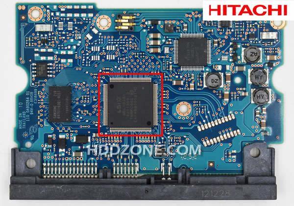日立のHDD基盤基板交換