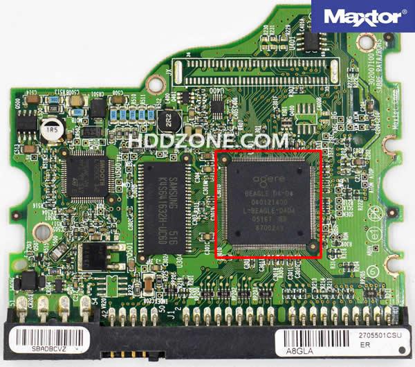 MaxtorのHDD基盤基板交換