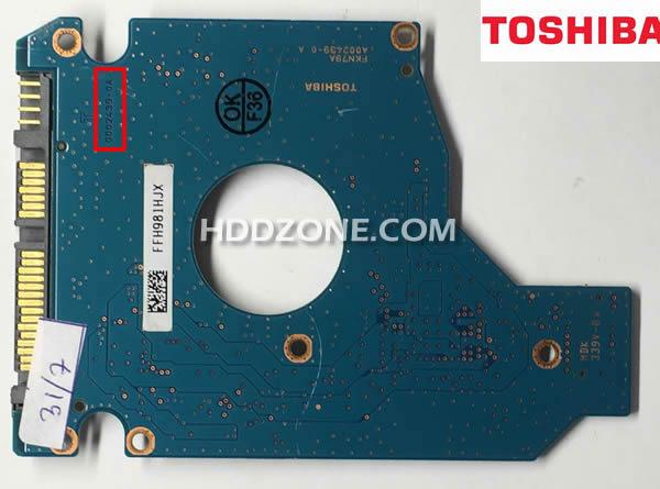 東芝のHDD基盤基板交換
