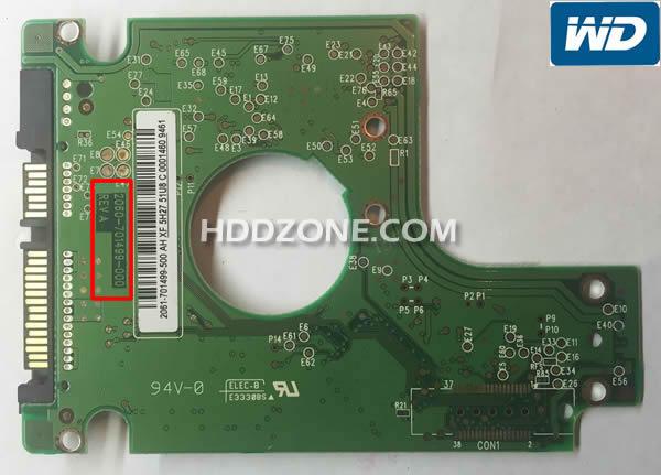 Western DigitalのHDD基盤基板交換